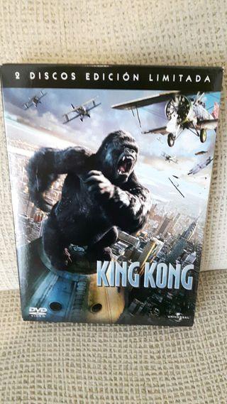 King Kong DVD Edición limitada