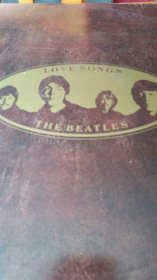 Te Beatles LOVE SONGS.