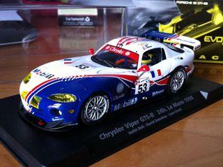 Scalextric Chrysler Viper GTS-R 24h Le Mans '98