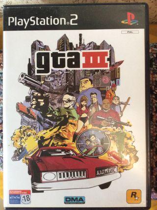 Grand Theft Auto III GTA3 PS2
