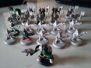 Warhammer 40k Orks Orkos Gretchins Corsario