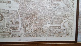Plano de la ciudad de Granada 1631