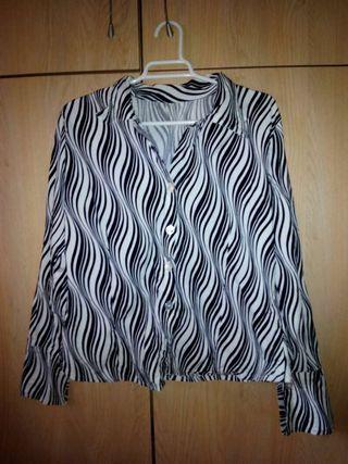 blusa vintage psicodelica 38