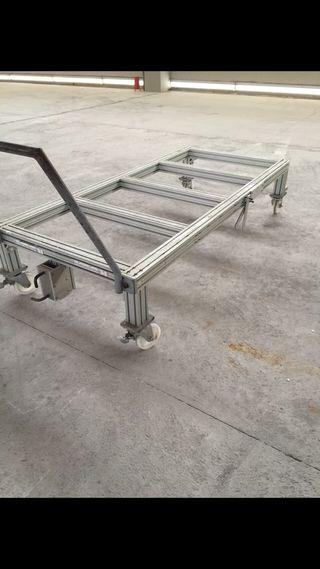 Carro aluminio