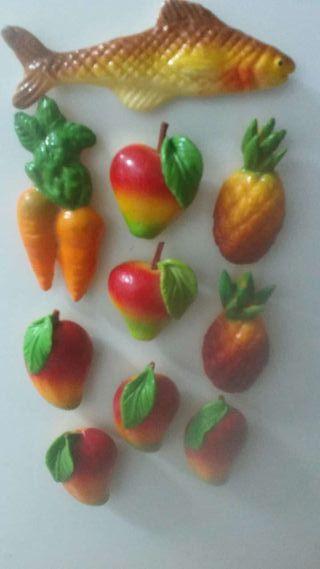 Imanes de frutas.todos 5 euros.