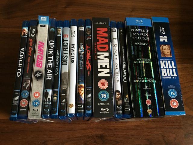 Pack 16 películas Blu Ray