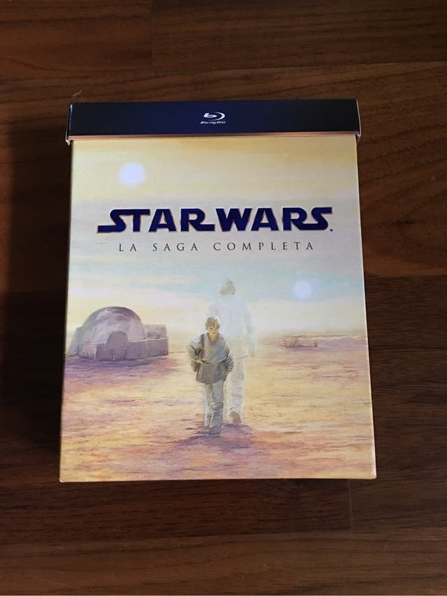 Star Wars Blu Ray