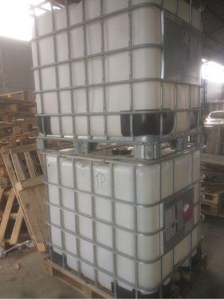 Depositos de 1000 litros para agua