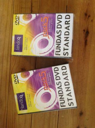 10 Fundas Para DVD standard NUEVAS .