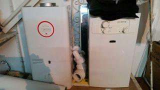calentador de agua caliente