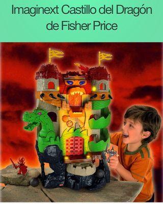 Castillo del Dragon de Imaginext