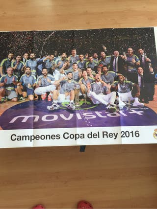 Póster Real Madrid Baloncesto