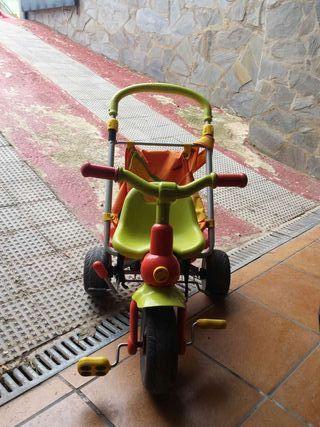 Triciclo de paseo para bebe