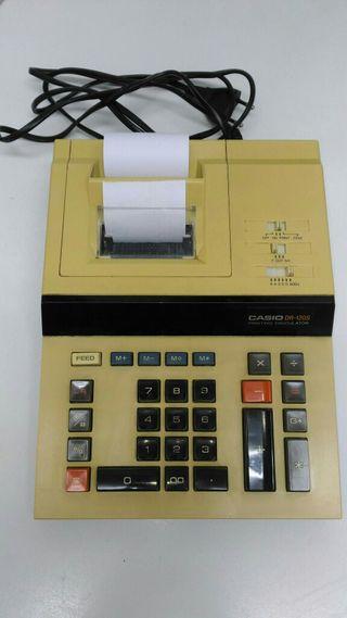 Maquina calculadora con ticket