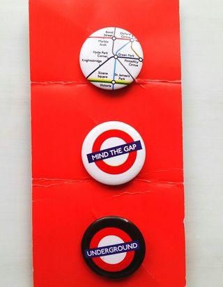 3 Pin Metro Londres