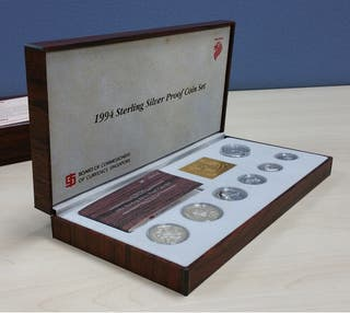 Monedas Plata Singapur