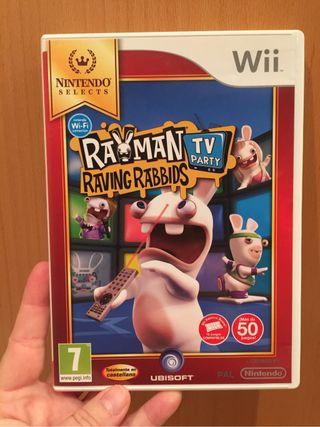 Wii Rayman Raving Rabbids