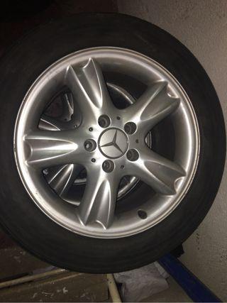 2 Llantas Mercedes 16