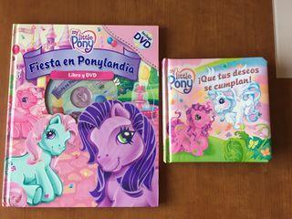 Pack de dos libros Mi Pequeño Pony
