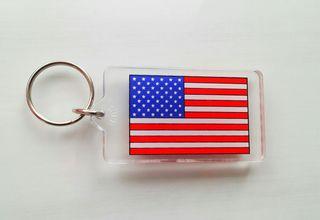 Llavero bandera EEUU