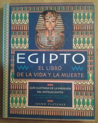 """Libro """"Egipto. El libro de la vida y la muerte"""""""