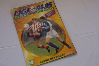 Album futbol cromos Panini - Liga 94-95