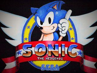 Cuadro friki videojuego Sonic, Sega