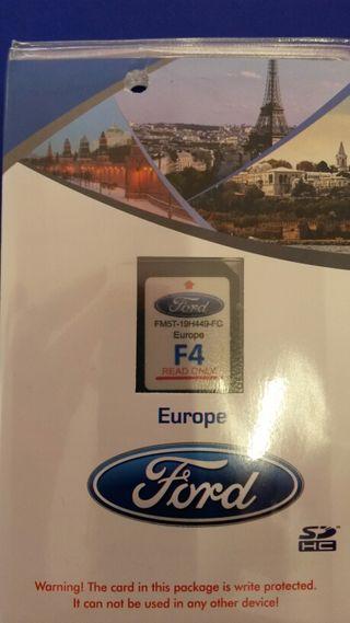 Tarjeta SD mapa 2015 navegador Ford Sync+2 Focus 2015