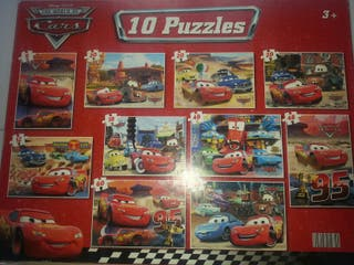 10 Puzzles cars
