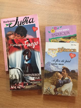 Novela romántica Harlequin Julia Bianca