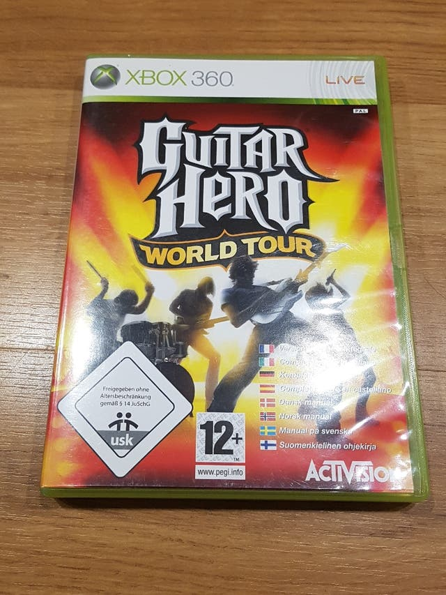 GUITAR HERO ROCK BAND XBOX 360