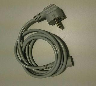 Cable alimentación pc, monitor.