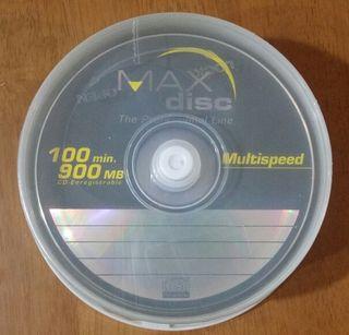 25 CD-R 900 mb Max Disc Nuevos