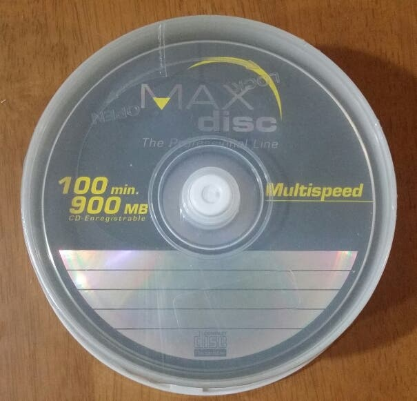 25 CD R 900 Mb Max Disc Nuevos