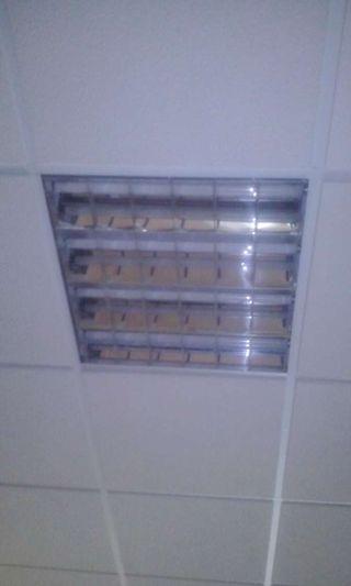 Luces techos rejistrables .