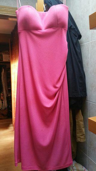 Precioso vestido rosa chicle instinto