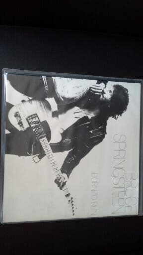 Lp de Bruce Springsteen -Born To Run.