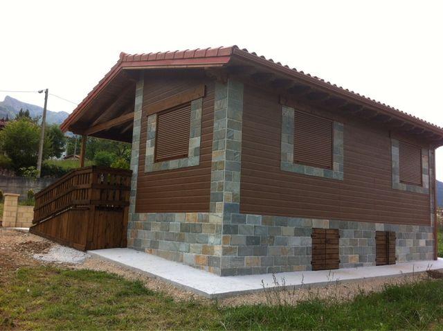 Casas de estructura de madera de segunda mano por en madrid en wallapop - Casas estructura de madera ...