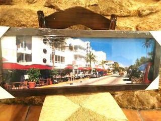 Cuadro fotografía Miami Beach EEUU