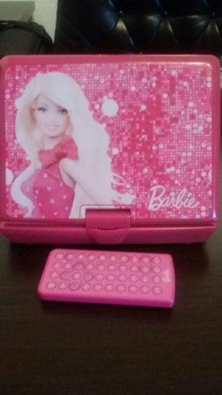 DVD portátil Barbie