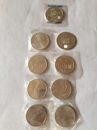 Monedas de plata 12€ y 30€