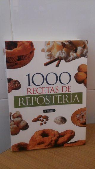 Libro 1000 Recetas de repostería