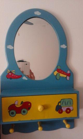 Espejo tocador infantil de segunda mano por 8 en almenar en wallapop - Tocador infantil ...