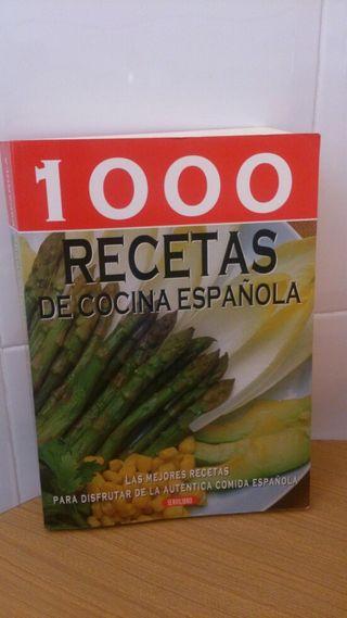 Libro 1000 Recetas de Cocina Española