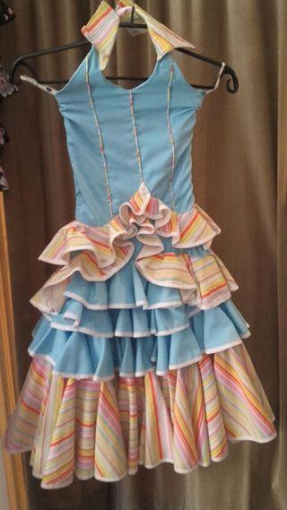 2 vestido de flamenca madre e hija