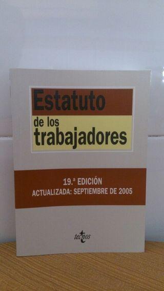 Libro Estatuto de los trabajadores