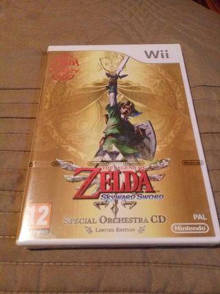 Zelda Skyward Sword Limited Edition + CD banda sonora