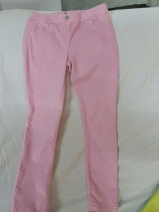 Pantalon rosa talla8 9