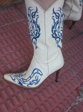Botas cowboy vaquero Sendra de lujo talla 39