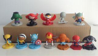 Coleccion De Figuras Marvel. Los Vengadores